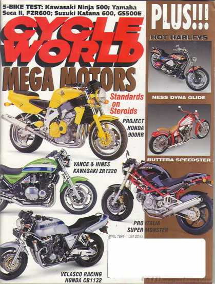 Cycle World - April 1994