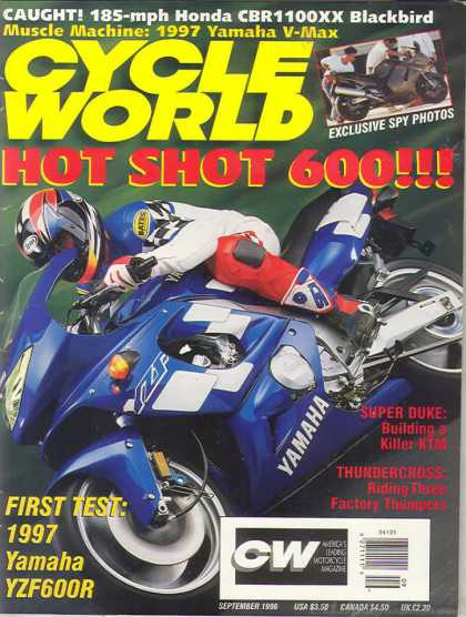 Cycle World - September 1996