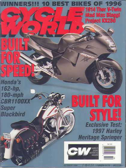 Cycle World - October 1996