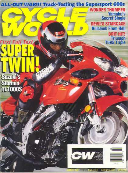 Cycle World - March 1997