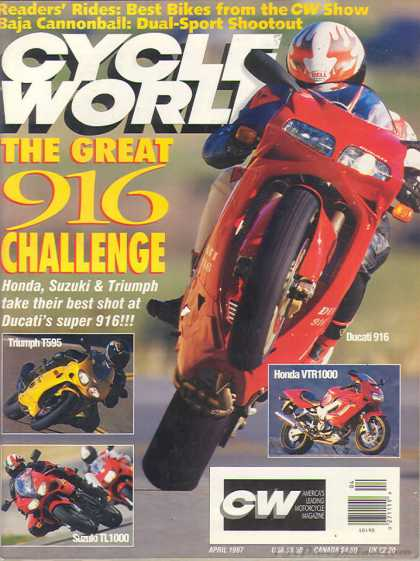 Cycle World - April 1997
