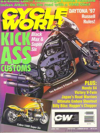 Cycle World - June 1997