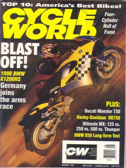 Cycle World - August 1997