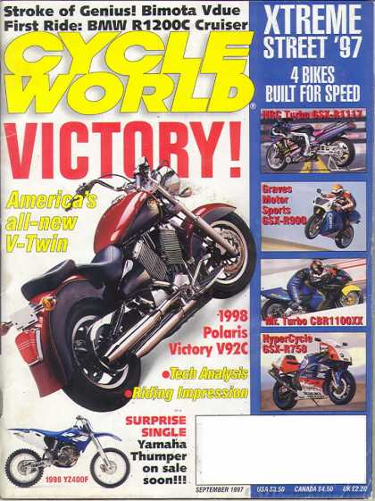 Cycle World - September 1997