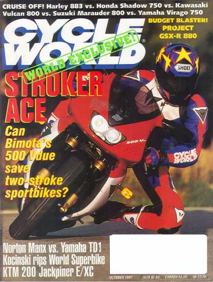 Cycle World - October 1997