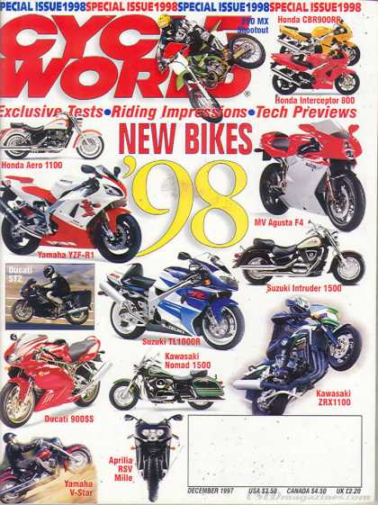 Cycle World - December 1997