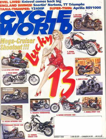 Cycle World - March 1998