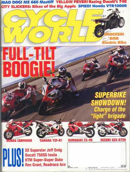 Cycle World - April 1998