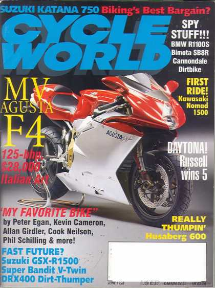 Cycle World - June 1998