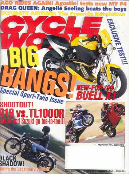 Cycle World - September 1998