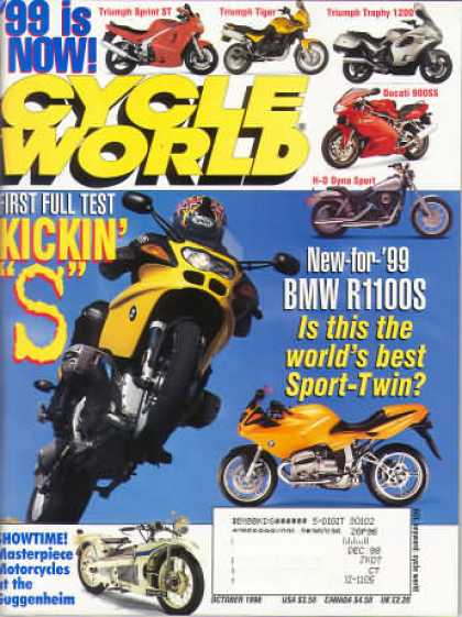 Cycle World - October 1998