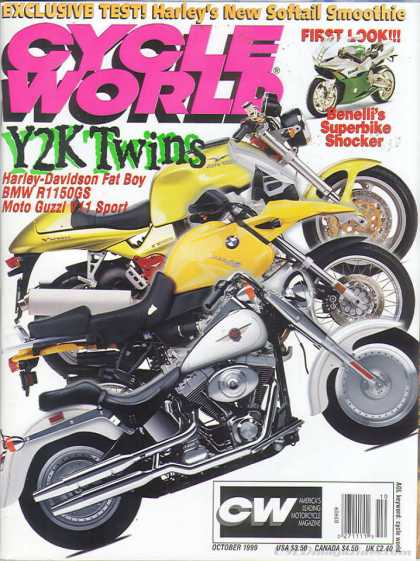 Cycle World - October 1999