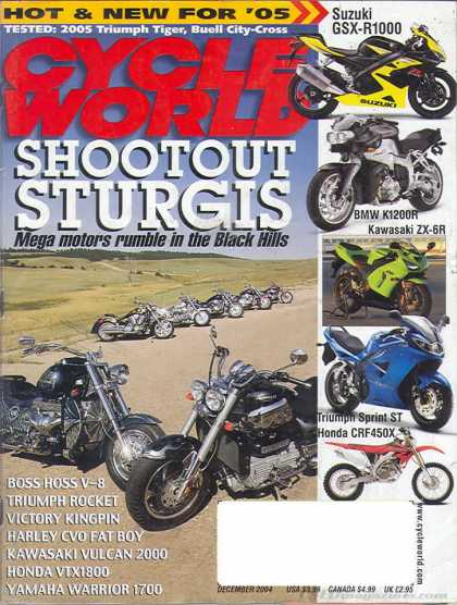 Cycle World - December 2004