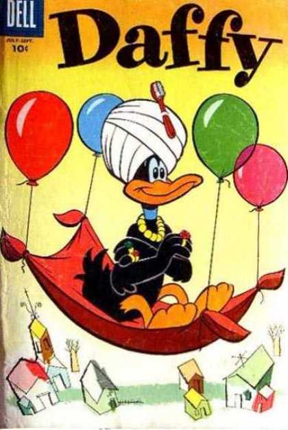 Daffy 6 - Balloons - Toothbrush - Floating Carpet - Head Wrap - Arabian