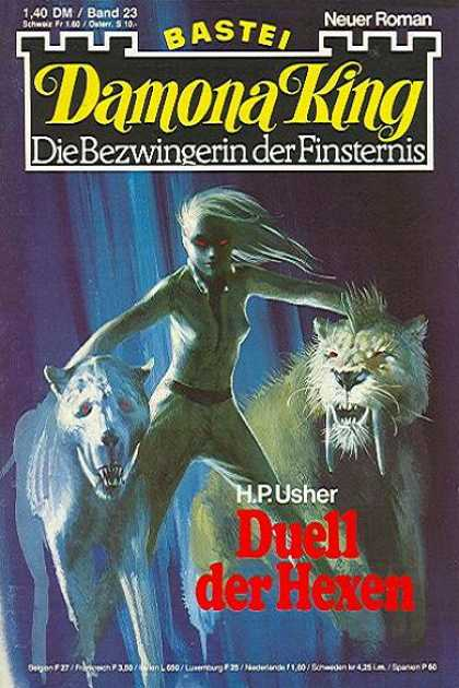 Damona King - Duell der Hexen - Sabortooth - Tiger - Castle - Woman - Evil
