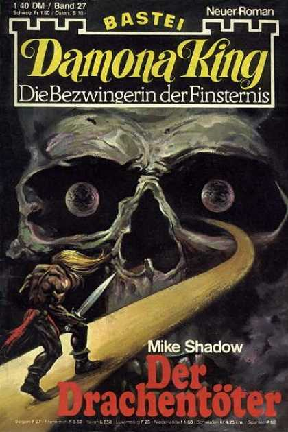 Damona King - Der Drachentöter - Skull - Sword - Hero - Mike Shadow - Foreign Language