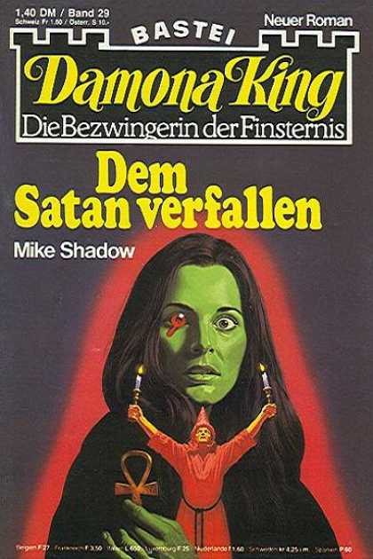 Damona King - Dem Satan verfallen - Mike Shadow - Candle - Ankh - Red Robe - Ceremony