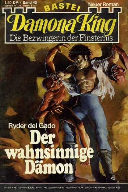 Damona King - Der wahnsinnige Dämon - Fight - Ryder Del Gado - Monster - Cave - Demon