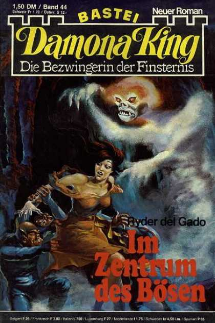 Damona King - Im Zentrum des Bösen - Ghost - Roman - Monster - Woman - Claws