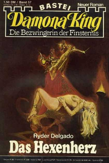 Damona King - Das Hexenherz - Smoke - Monster - Woman - Girl - Gire