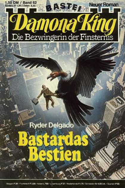 Damona King - Bastardas Bestien - Hawk - Bird - Man - Catch - City
