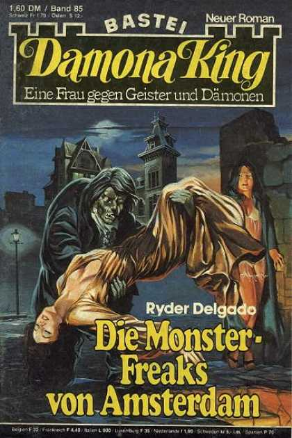 Damona King - Die Monster-Freaks von Amsterdam - Monster
