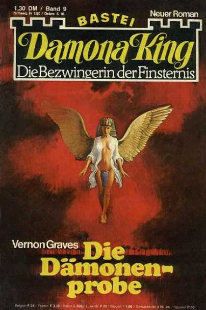 Damona King - Die Dämonenprobe - Egyptian Goddess - The Pharaoh - Ancient Beings - Vernon Graves - German Comics