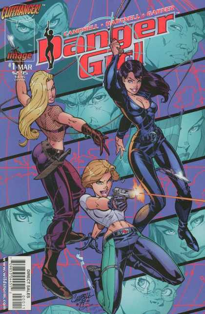 Danger Girl 1 - Alex Garner