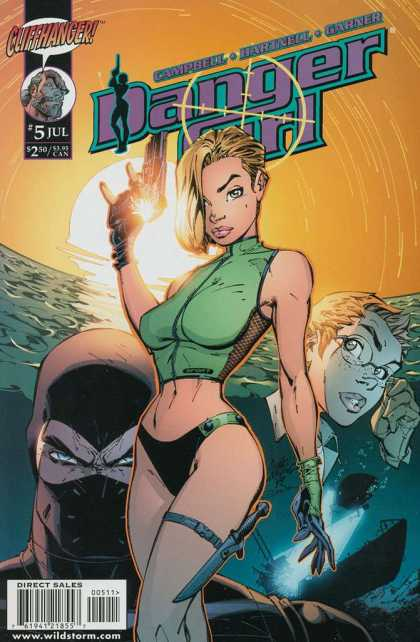 Danger Girl 5 - Alex Garner