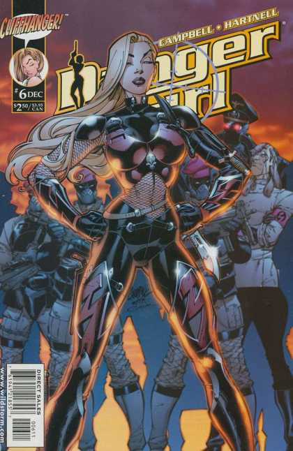 Danger Girl 6 - Cliffhanger - Woman - Red Eyes - Nazi