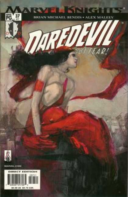 Daredevil (1998) 37 - Marvel Knights - Brian Michael Bendis - Alex Maleev - Without Fear - Direct Edition - Alex Maleev
