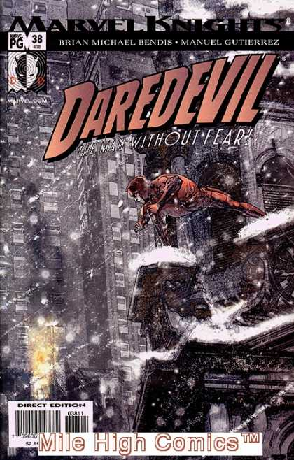 Daredevil (1998) 38 - Marvel Knights - Brian Michael Bendis - Manuel Gutierrez - Superhero - The Man Without Fear - Alex Maleev