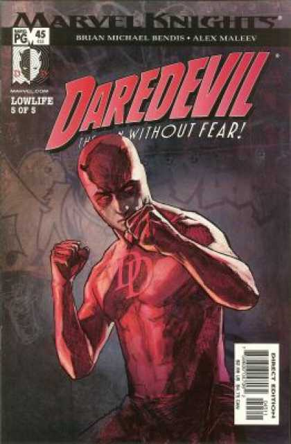 Daredevil (1998) 45 - Fear - Face - Hands In Air - Floggy - Gray - Alex Maleev