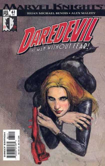 Daredevil (1998) 61 - The Man Without Fear - Brian Michael Bendis - Alex Maleev - Blonde - Female - Alex Maleev