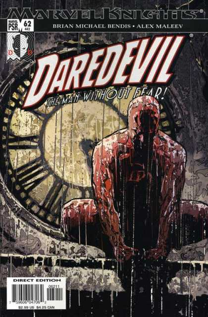 Daredevil (1998) 62 - Brian Michael Bendis - Daredevil - The Man Without Fear - Clock - Alex Maleev - Alex Maleev