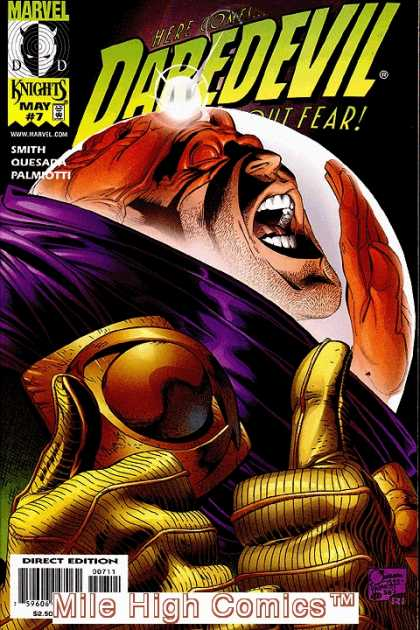 Daredevil (1998) 7 - Good And Evil - Power Hungry Demon - Last Chance To Ovecome Fear Of Monster - The Big Giant Anixiety - Understanding Foreigners - Jimmy Palmiotti, Joe Quesada
