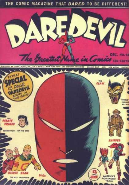 Daredevil Comics 14