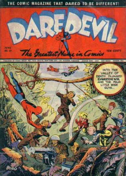 Daredevil Comics 16