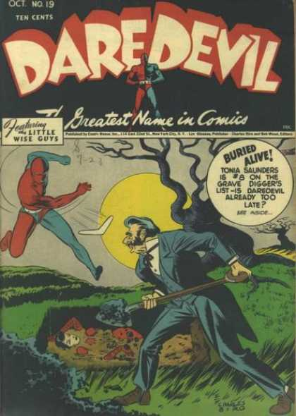 Daredevil Comics 18