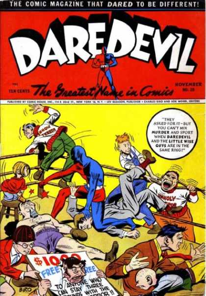 Daredevil Comics 19