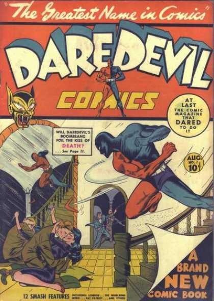 Daredevil Comics 2
