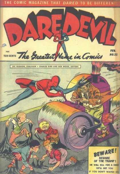 Daredevil Comics 21