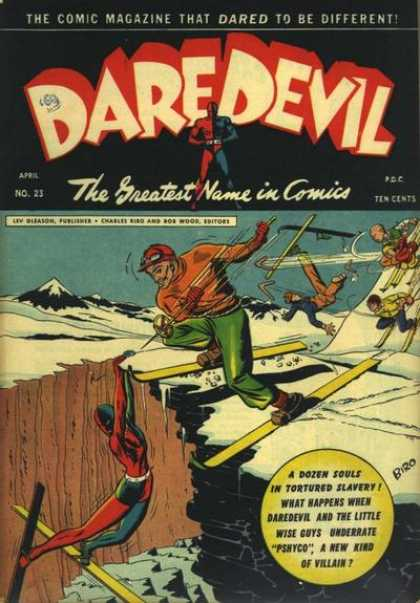 Daredevil Comics 22