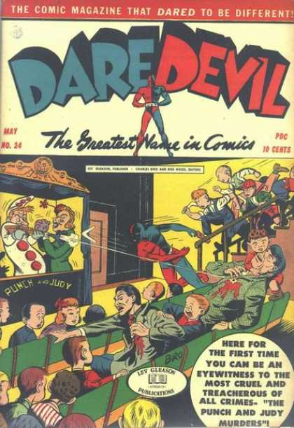 Daredevil Comics 23