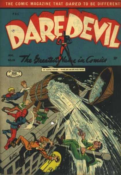 Daredevil Comics 25