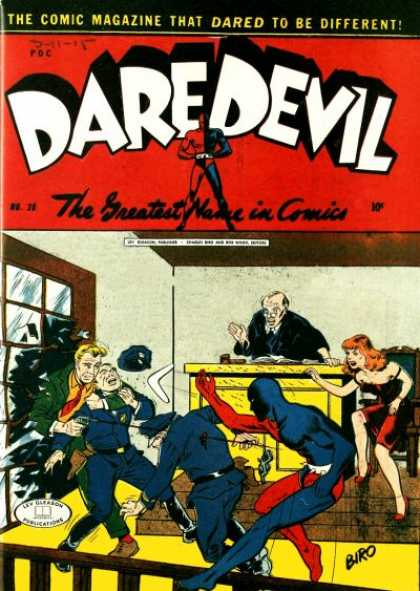 Daredevil Comics 27