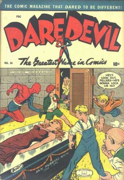 Daredevil Comics 29