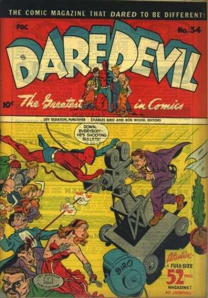 Daredevil Comics 33