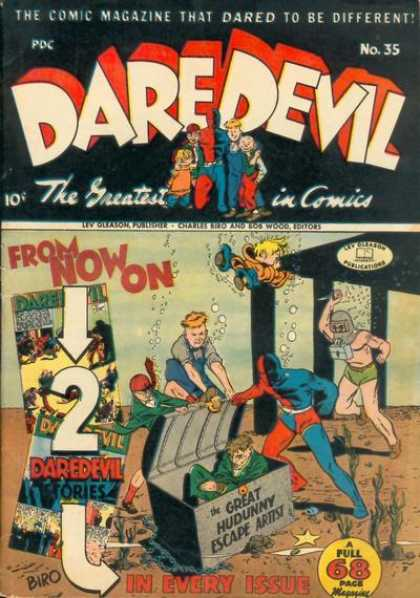 Daredevil Comics 34