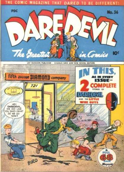 Daredevil Comics 35